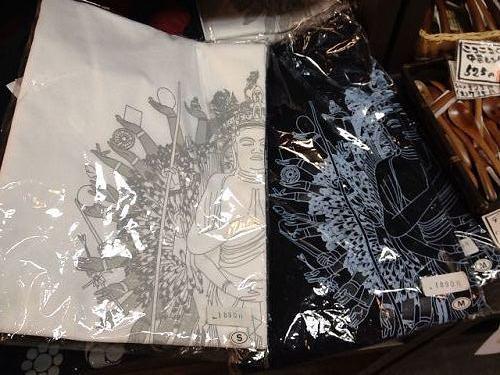 仏像Tシャツなど@なら和み館-02