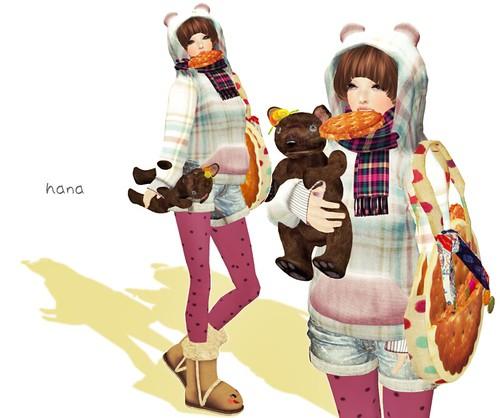 warm bear。