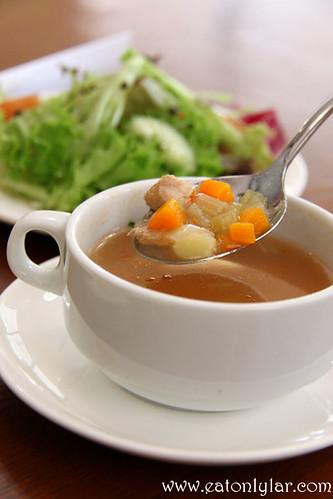 Soup, Bistro Fiore