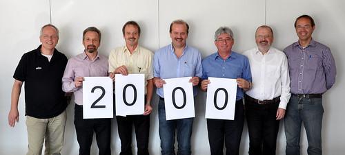 Statt Jubiläumfeier spendet die Fa. P&G Werk Braun Walldürn für den Förderkreis Leben braucht Wasser e.V.