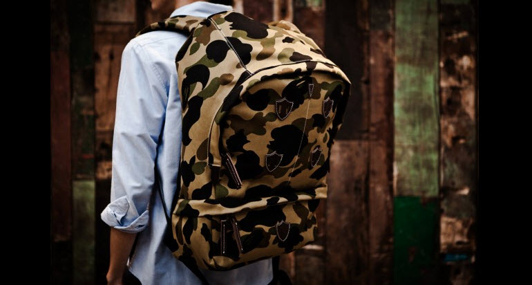 Tuukka13 - Non-Black Backpack Inspiration - Large Camo Backpack