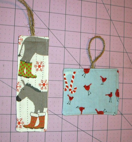 fabric gift tags - back