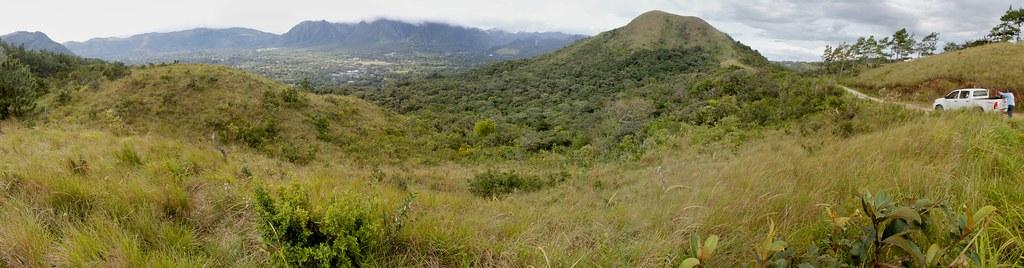 El Valle de Anton Panorama