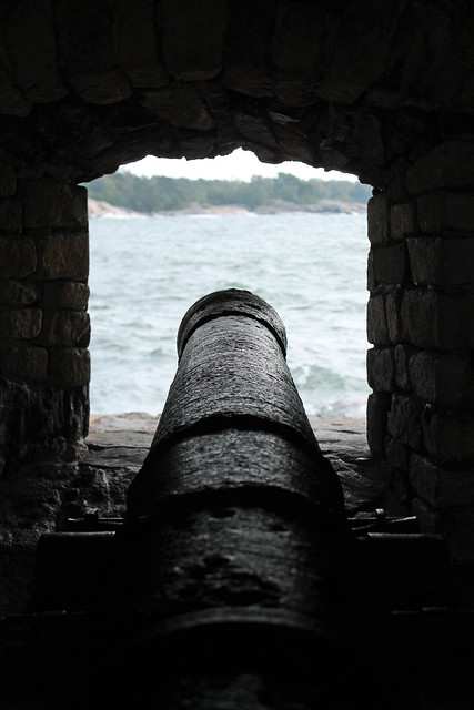 Cannons at Suomenlinna