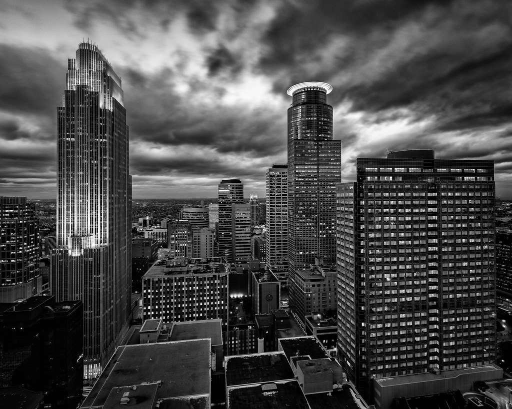 View from Foshay Tower - Minneapolis, MN