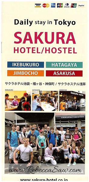 Daily Stay in Tokyo Sakura H-Hostel