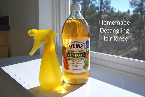 Homemade Detangling Hair Rinse