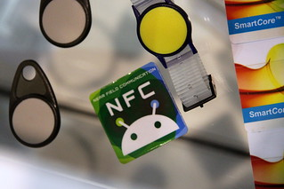 Tag NFC @ Cartes 2012
