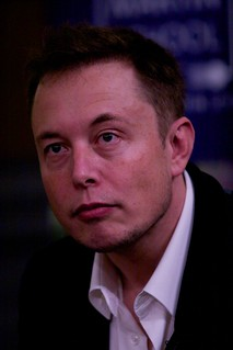 Elon Musk at James Martin Lecture, Sheldonian Theatre, Oxford