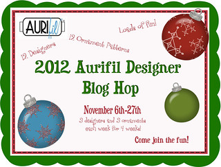 Aurifil Ornament Blog Hop details