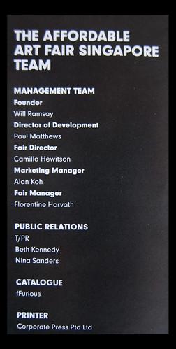 AAF 2012 Team