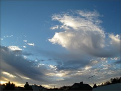 Sunrise 11/14/12, fisheye