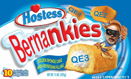 HOSTESS BERNANKIES by Colonel Flick