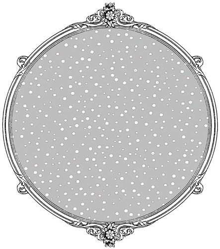 silver skies confetti snow dot paper SAMPLE