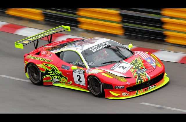 ferrari 458 gt3 macau gt cup 2012 59th macau grand prix flickr photo sharing. Black Bedroom Furniture Sets. Home Design Ideas