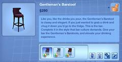 Gentleman's Barstool