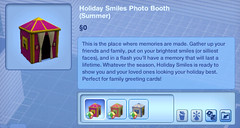 Holiday Smiles Photo Booth (Summer)