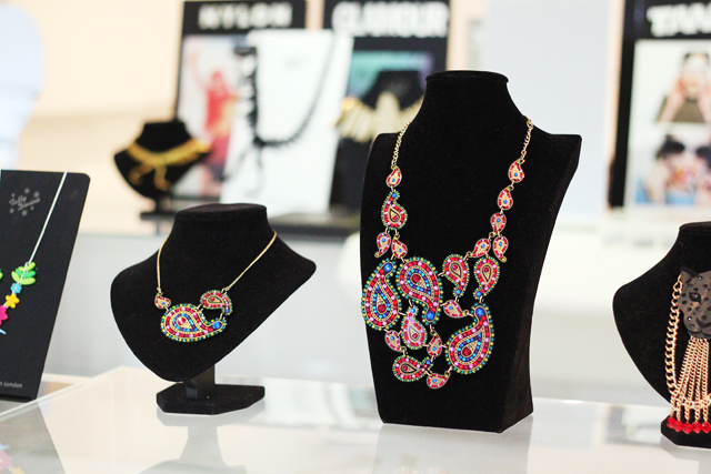 Tatty Devine paisley necklaces