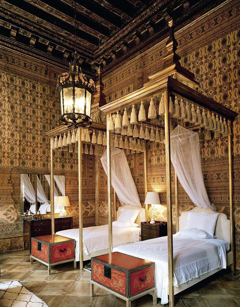 Egyptian Decor Bedroom: Palazzo Brandolini