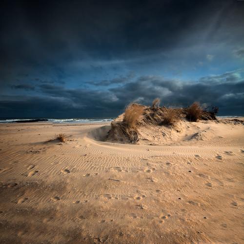 praia dark landscape sand areia nuvens d200 wanilton oceanglove