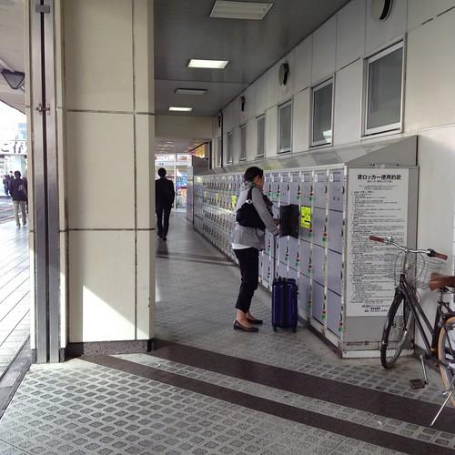 品川駅高輪口のロッカー by haruhiko_iyota
