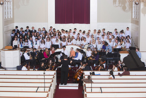 Fall Music Concert - Practice Session