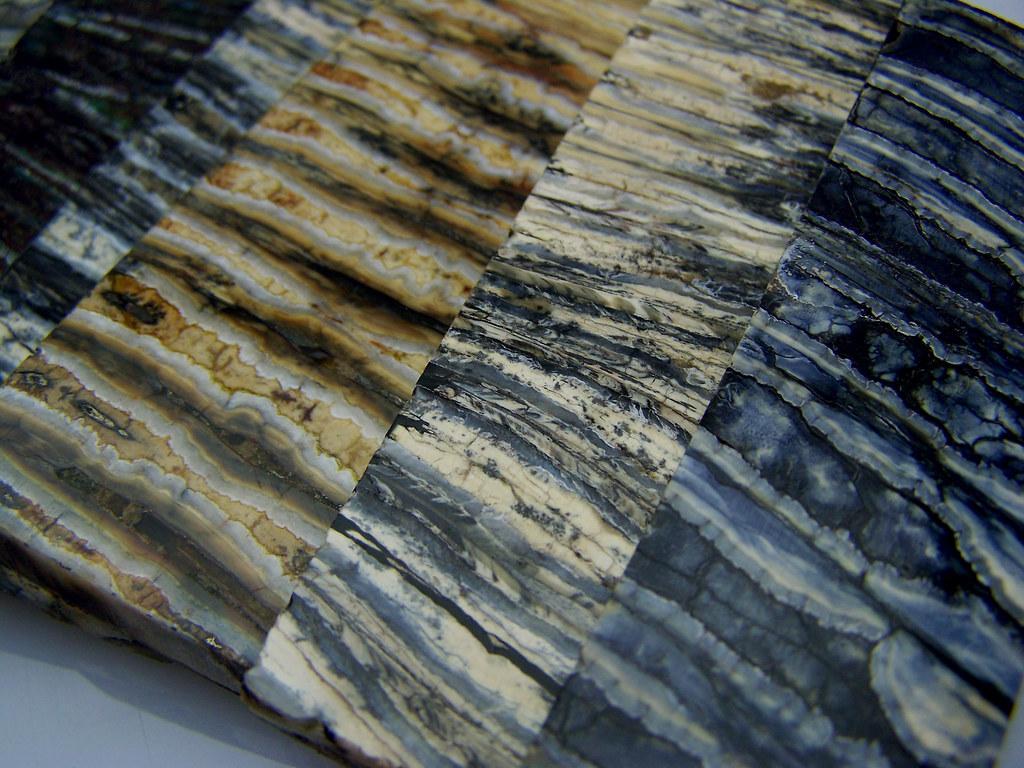 couteaux-molaire-mammouth-fossile-manche de couteaux sur mesure