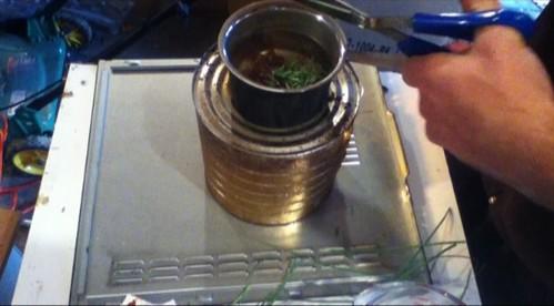 add wild herbs