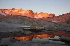 Upper Enchantment Basin to Temple Lake and Viviane Lake