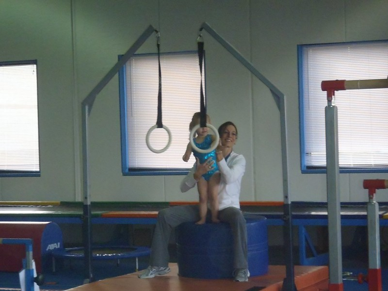 Lilah at Gymnastics