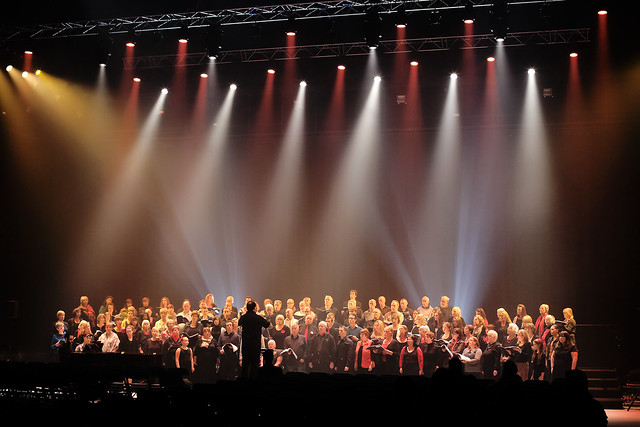 The Royal Opera House Thurrock Community Chorus singing at Awake in Chorus! © Paul Starr/ROH 2012