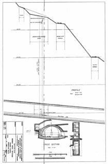 Tentative Plan, Buena Vista Station, Sunset Tunnel, Duboce Avenue Route (1926)
