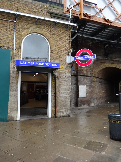 Latimer Road Station Entrance