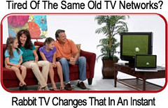 Choose from thousands of Internet TV networks!