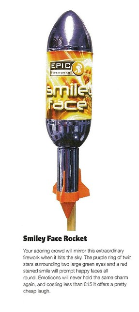 The Smiley Face Rocket review by Sorted Magazine Nov / Dec 2012