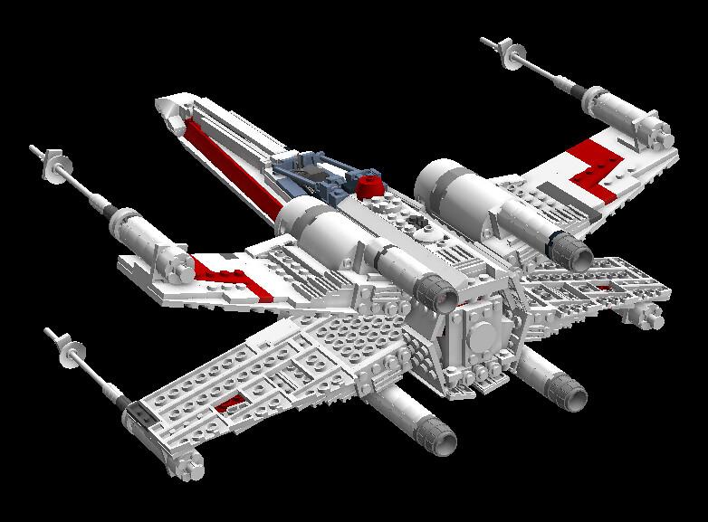 X-wing 8205005454_eb9e56020d_b