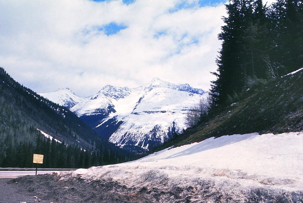 Canada - Glacier National Park, BC - May 1976