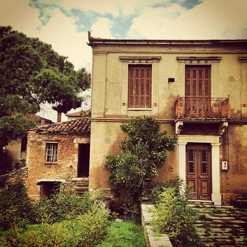 Λαύκος Πηλίου, Αρχοντικό σπίτι (στην κυριολεξία).. by Dimitris Amountzas