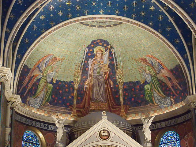 Saint Cecilia, in Saint Louis, Missouri - apse - 2