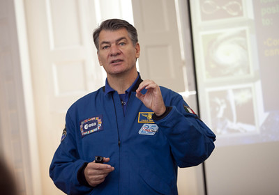 Paolo Nespoli ESA Science Week Lecture 2
