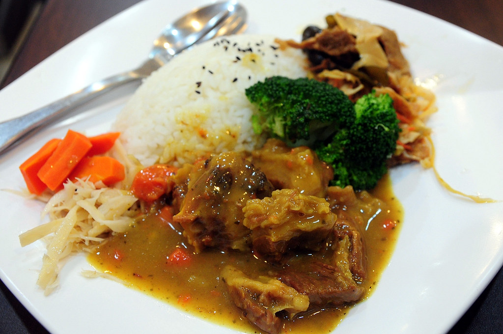 鈜景牛肉 - 咖哩牛肉飯