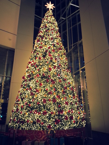 Christmas tree @ One Raffles Quay