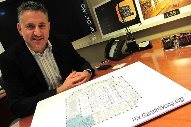 Eric Van Der Kleij, Special advisor, Level39, Canary Wharf IMG_9327