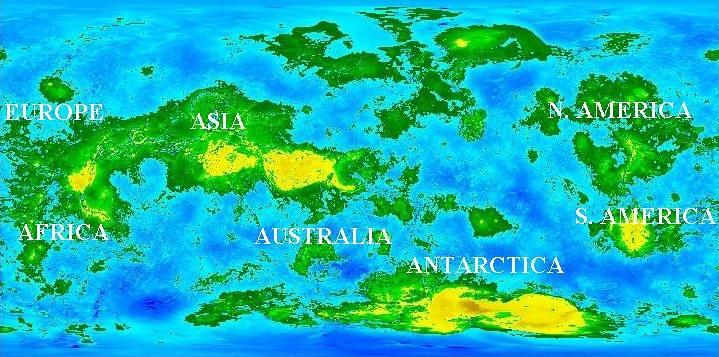 saturn planet elevation maps - photo #19