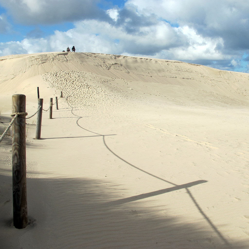 Moving dunes, Slowinski National Park.
