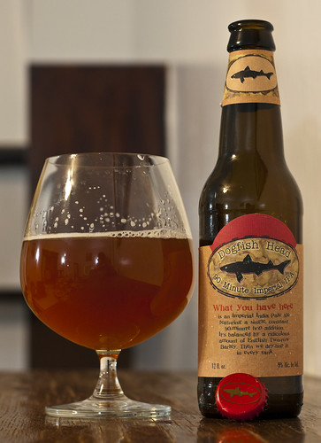 Review: Dogfish Head 90 Minute Imperial IPA by Cody La Bière