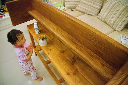 木工 板凳 20121123_1