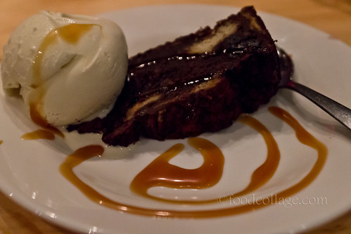 Chocolate Bread Pudding at E2