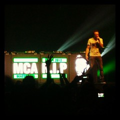 So C2C covered 'intergalactic' today in luxembourg #respect homage to Adam Yauch