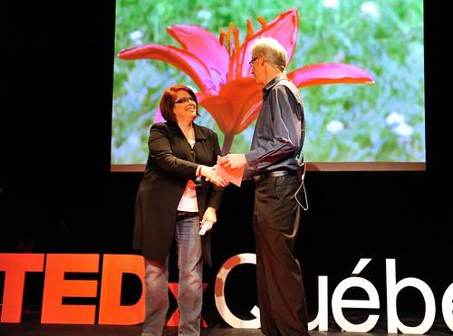 TEDxQuebec 2012|Francine Morin
